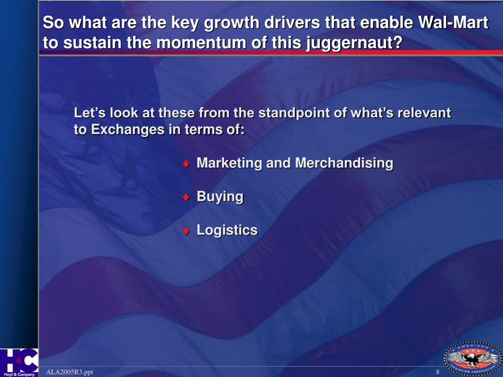 So what are the key growth drivers that enable Wal-Mart to sustain the momentum of this juggernaut?