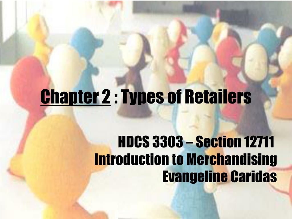 chapter 2 types of retailers l.
