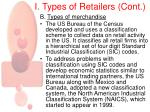 i types of retailers cont5