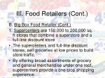 iii food retailers cont17