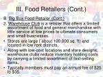iii food retailers cont18