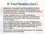 iii food retailers cont21