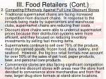 iii food retailers cont22