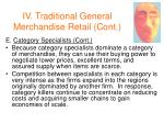 iv traditional general merchandise retail cont31