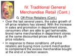 iv traditional general merchandise retail cont34