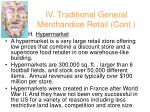 iv traditional general merchandise retail cont36