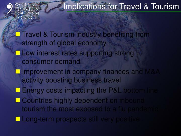 Implications for Travel & Tourism