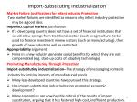 import substituting industrialization17
