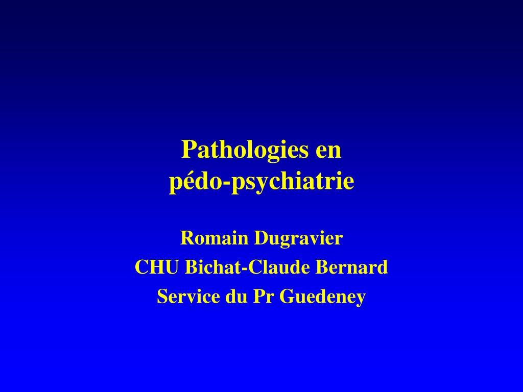 Pathologies en