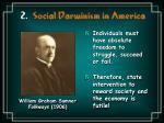 2 social darwinism in america