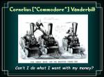 cornelius commodore vanderbilt