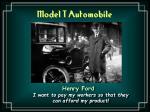 model t automobile