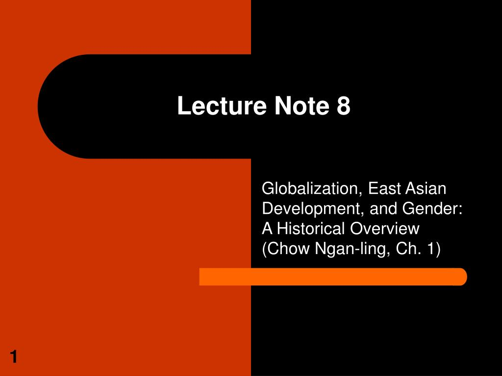 lecture note 8 l.