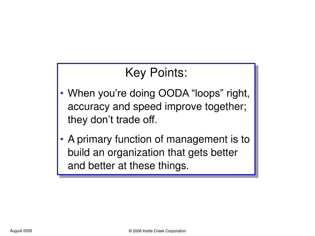 Key Points: