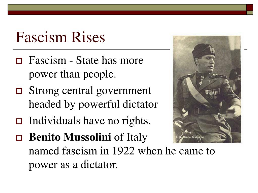 Fascism Rises