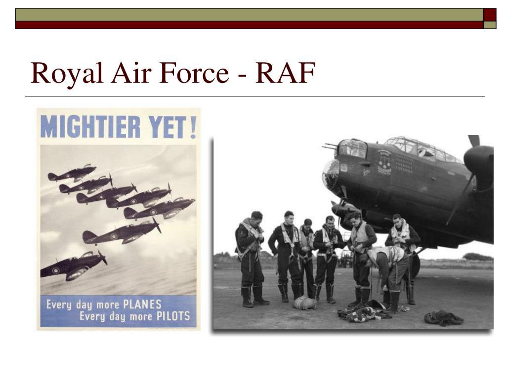 Royal Air Force - RAF