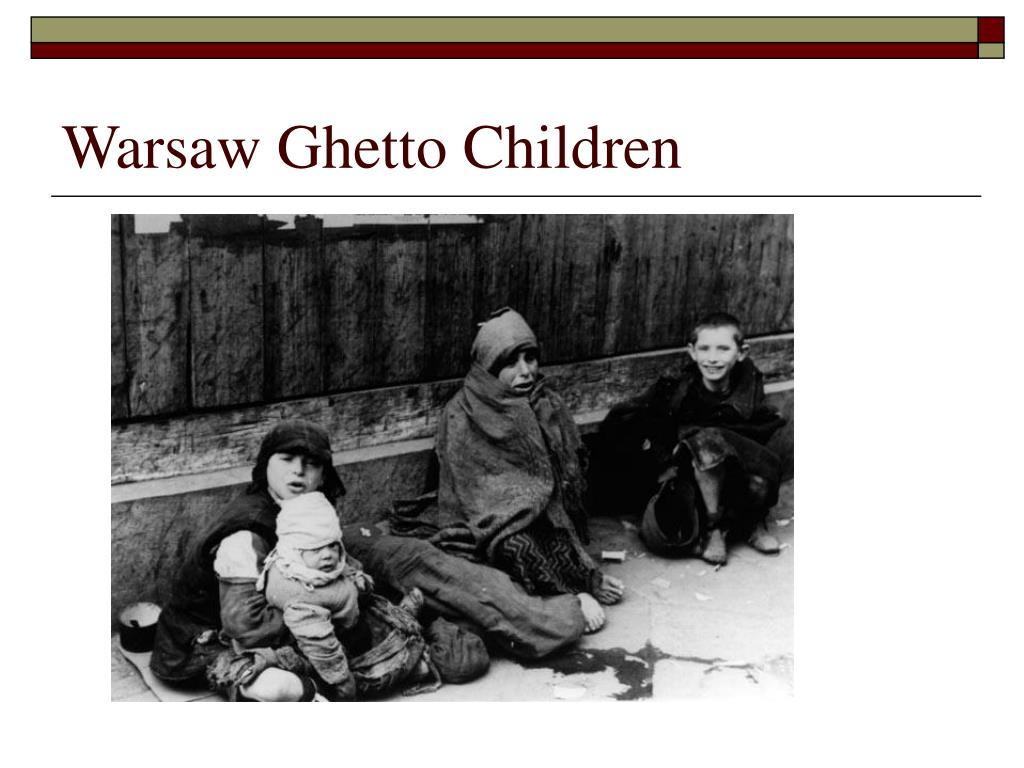 Warsaw Ghetto Children