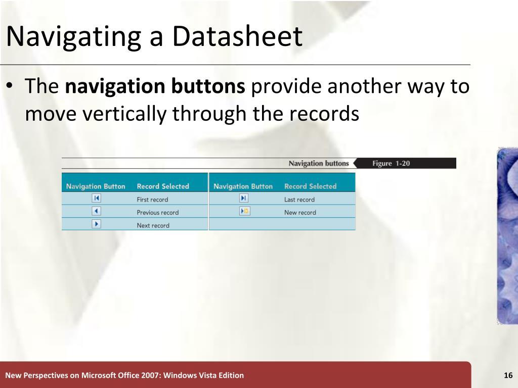 Navigating a Datasheet