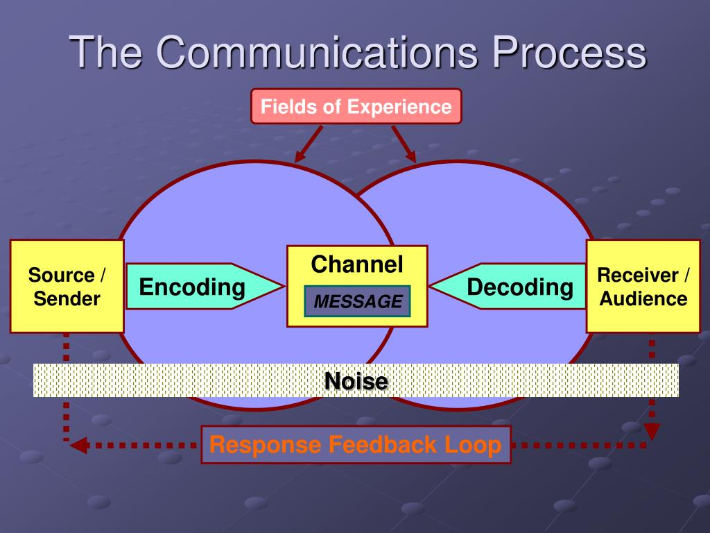 the communications process l.