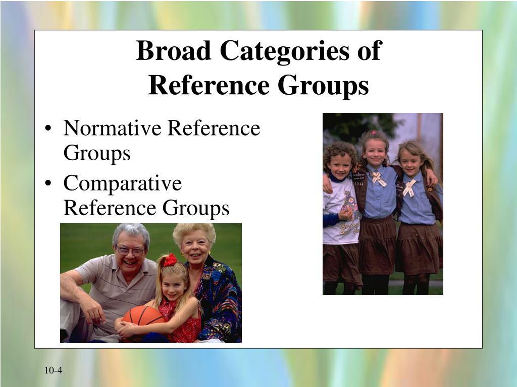 Broad Categories of