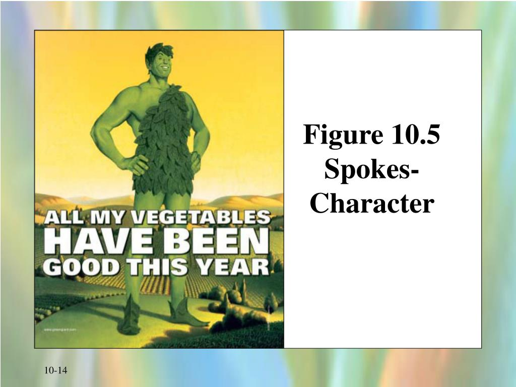 Figure 10.5 Spokes-Character