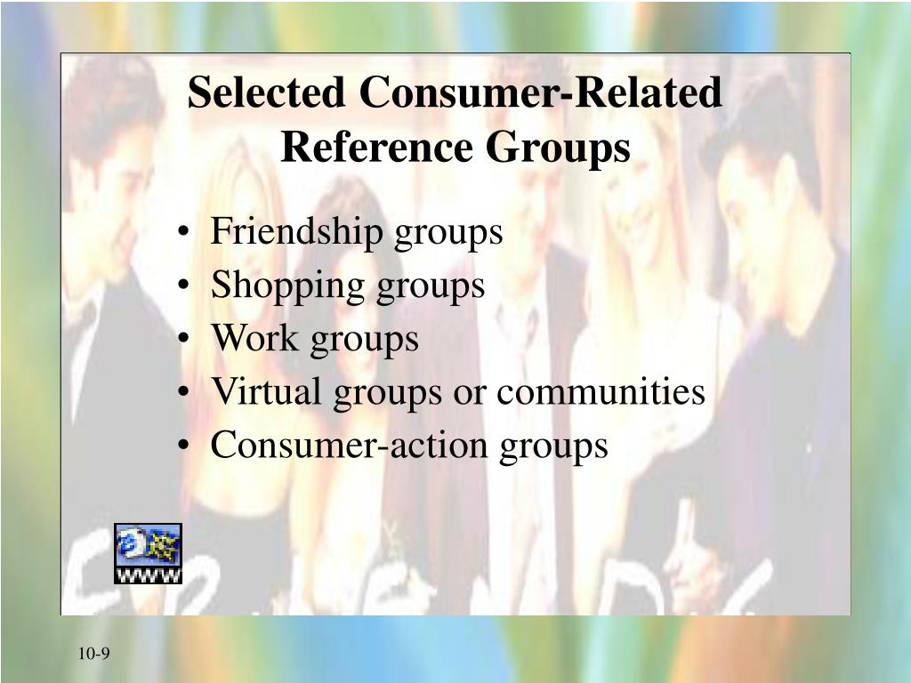 Selected Consumer-Related