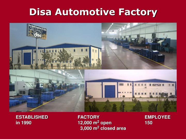 Disa automotive factory