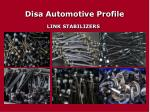 disa automotive profile