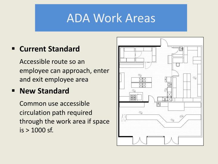 ADA Work Areas