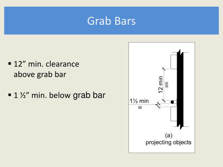 Grab Bars