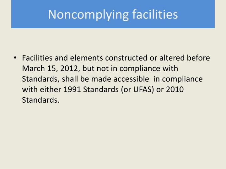 Noncomplying