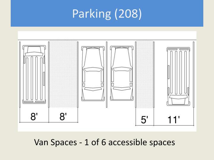 Parking (208)