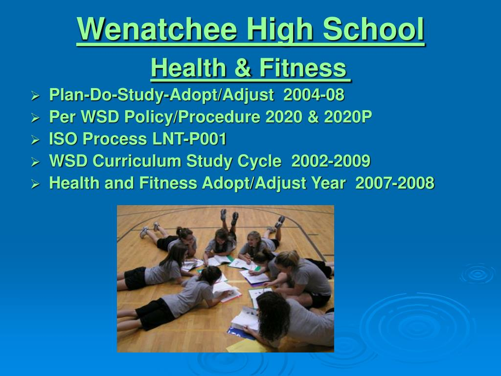 wenatchee high school health fitness l.