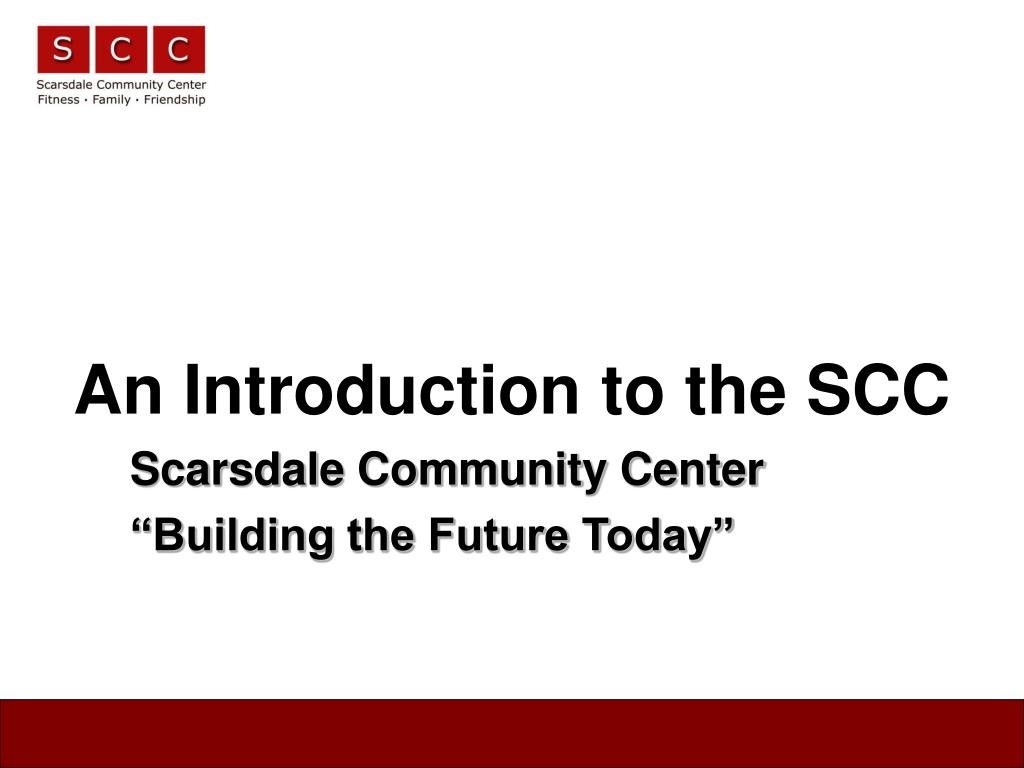 an introduction to the scc l.