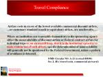 travel compliance