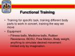functional training59