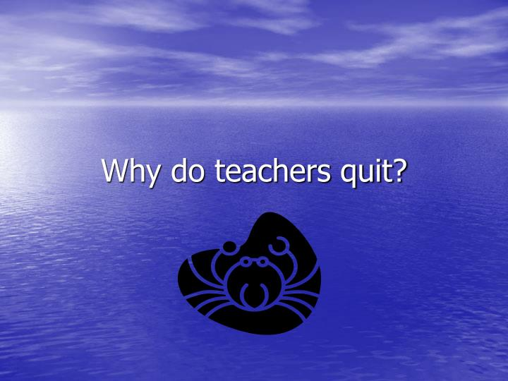 why do students quit school