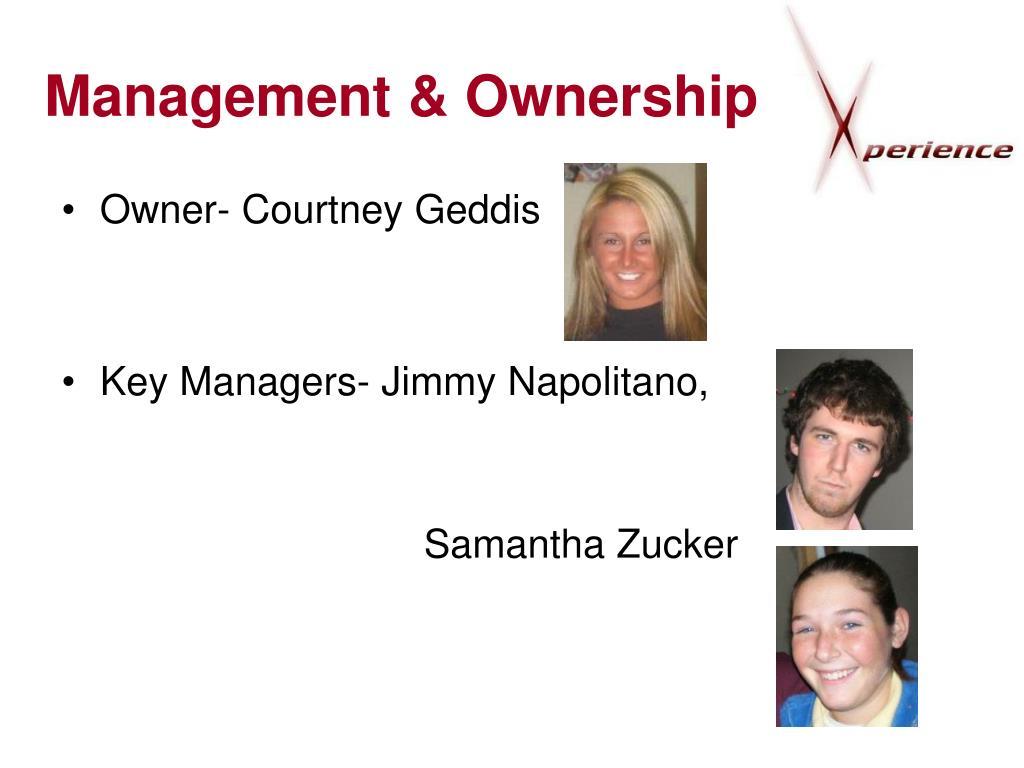 Management & Ownership
