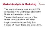 market analysis marketing