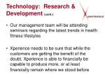 technology research development cont13