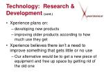 technology research development cont14