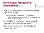 technology research development cont15