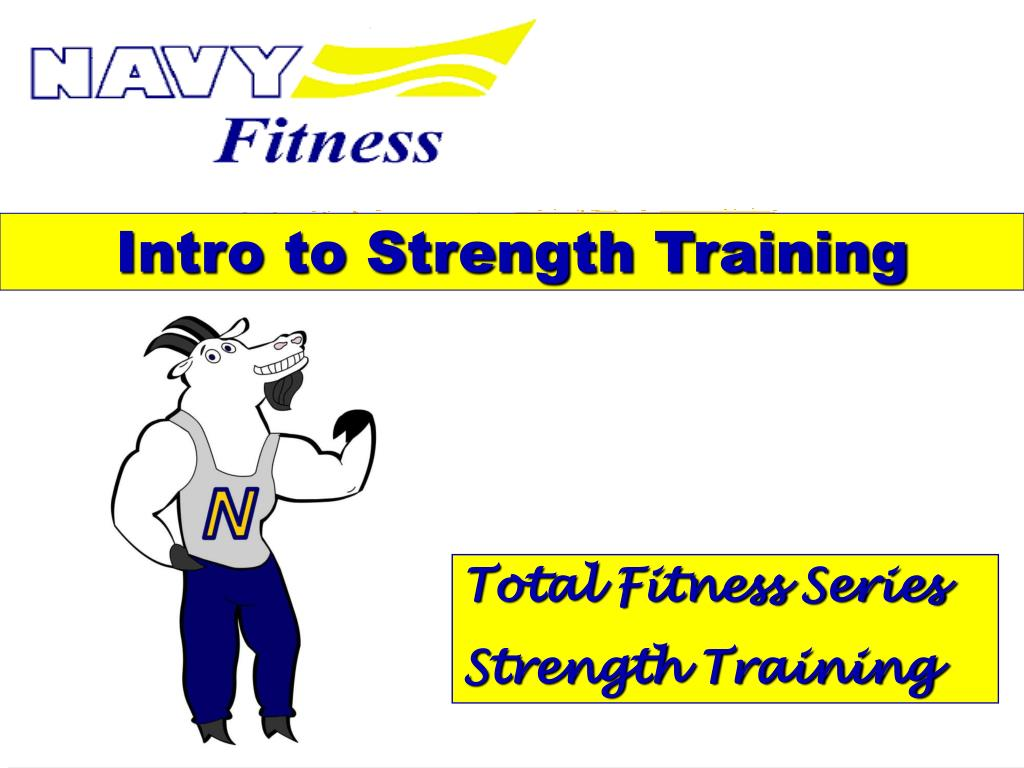 intro to strength training l.