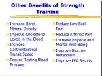 other benefits of strength training