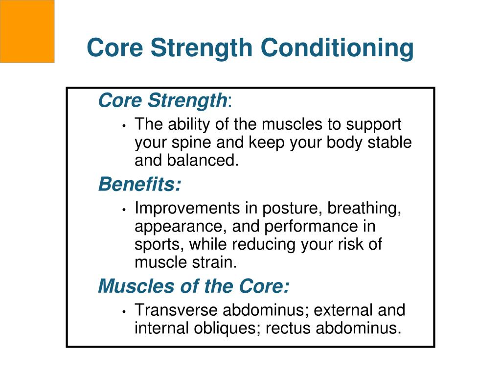 Core Strength Conditioning
