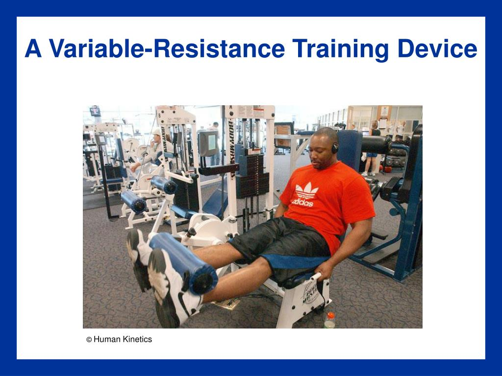 A Variable-Resistance Training Device
