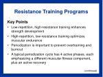 resistance training programs18