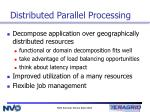 distributed parallel processing