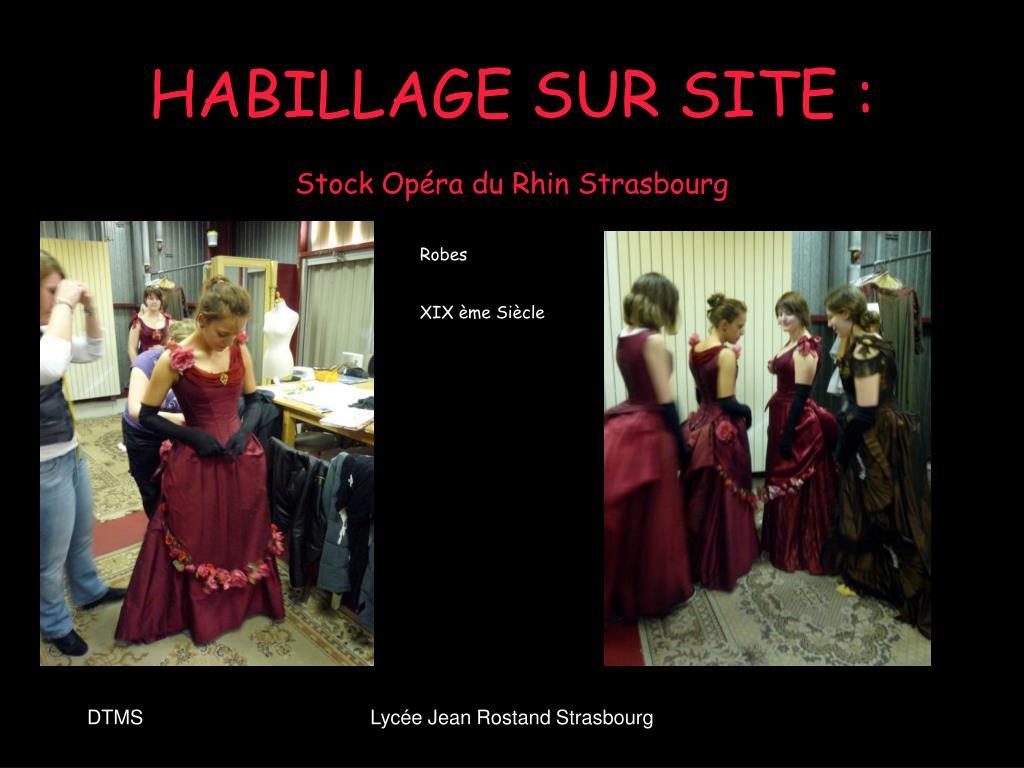 HABILLAGE SUR SITE :