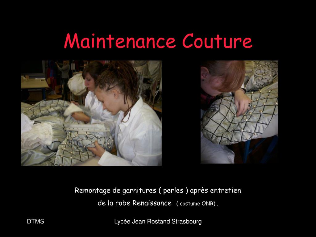 Maintenance Couture